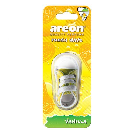 Aromatizante Areon Fresh Wave Vanilla - Vainilla