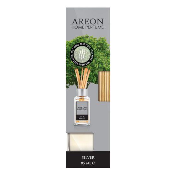Difusor Aromatizante para Casa Areon Home Perfume 85 ml Silver