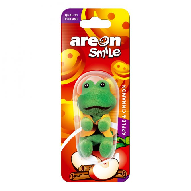 Aromatizante Areon Smile Blister Apple and Cinnamon - Manzana Canela