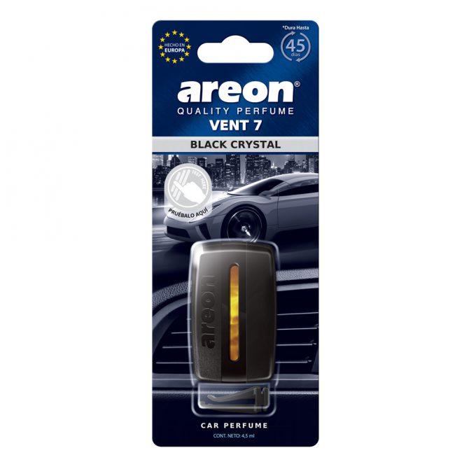 Aromatizante para Auto Areon Vent 7 Black Crystal