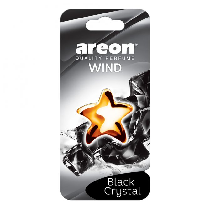 Aromatizante Areon Wind Fresh Black Crystal
