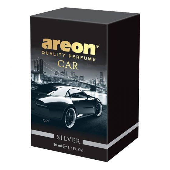 Aromatizante Areon Car Perfume 50 ml Silver