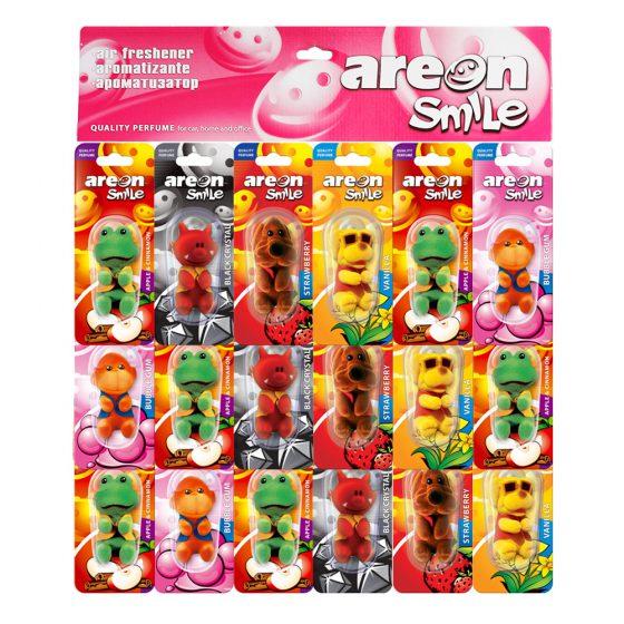 PANASPTT. Areon Smile Blister - 18 piezas