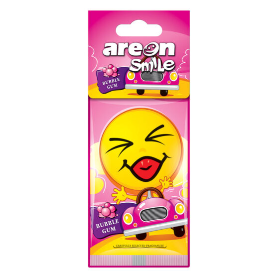 Aromatizante Areon Smile Dry Bubble Gum - Chicle
