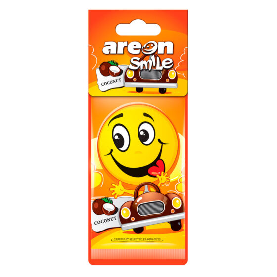 Aromatizante Areon Smile Dry Coconut - Coco