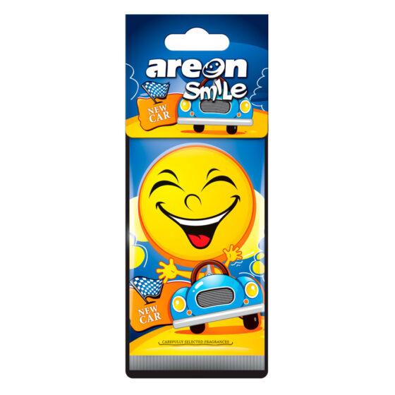 Aromatizante Areon Smile Dry New Car - Auto Nuevo