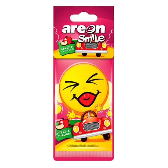 Aromatizante Areon Smile Dry Apple and Cinnamon - Manzana Canela