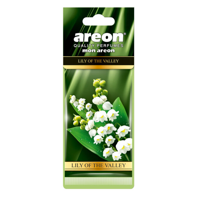 Aromatizante Areon Mon Lily of the Valley - Lirio de los Valles